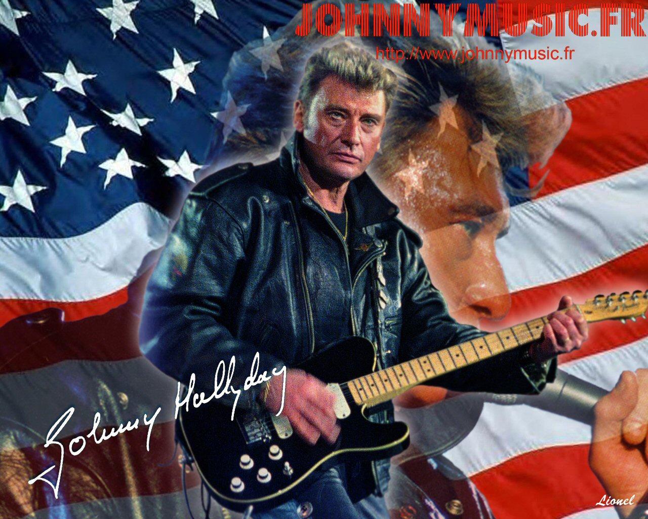 Desktop Background: Fond D'écran Gratuit Johnny Hallyday